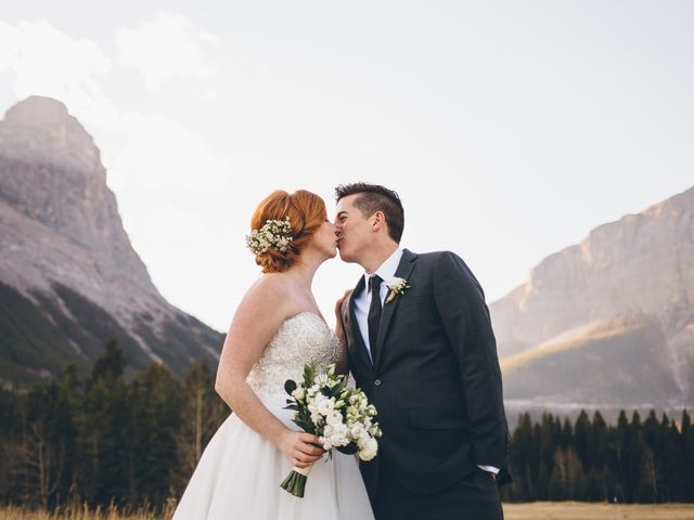 Dustin and Desaree's wedding in Canmore, Alberta 32
