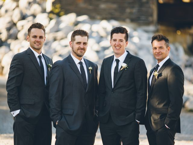 Dustin and Desaree's wedding in Canmore, Alberta 40