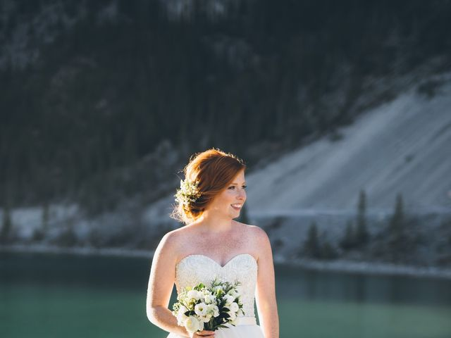 Dustin and Desaree's wedding in Canmore, Alberta 48