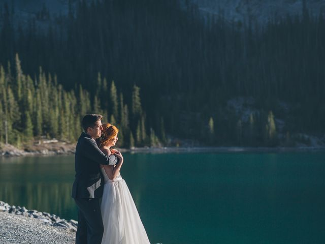Dustin and Desaree's wedding in Canmore, Alberta 49