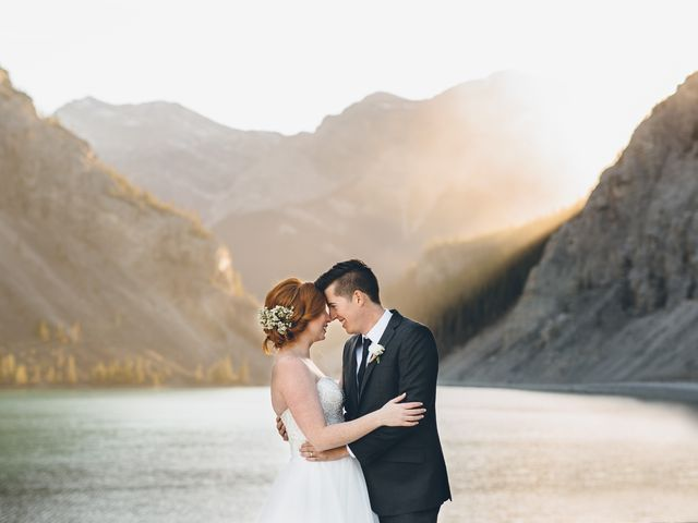Dustin and Desaree's wedding in Canmore, Alberta 51
