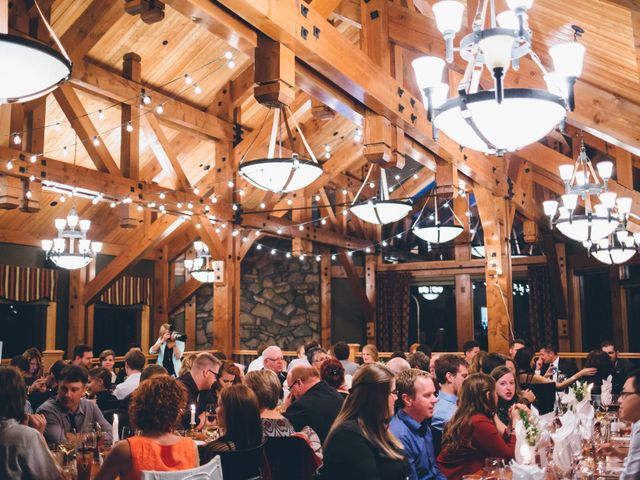 Dustin and Desaree's wedding in Canmore, Alberta 60