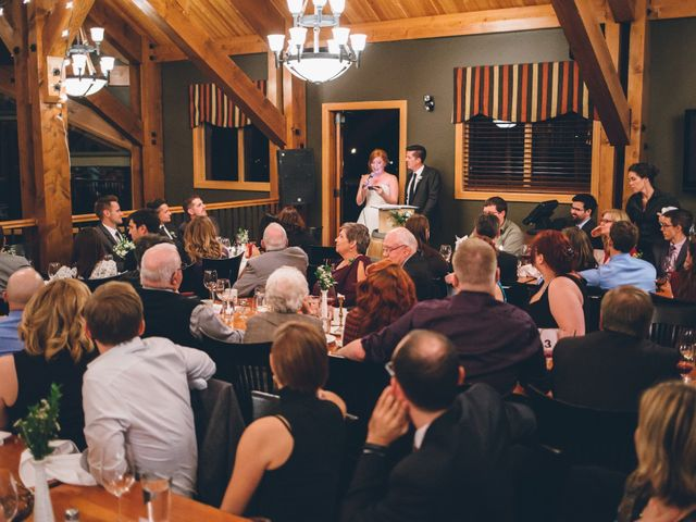 Dustin and Desaree's wedding in Canmore, Alberta 65