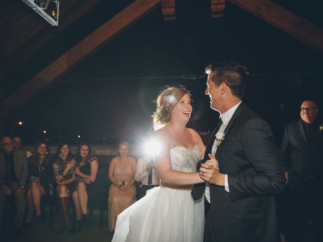 Dustin and Desaree's wedding in Canmore, Alberta 66