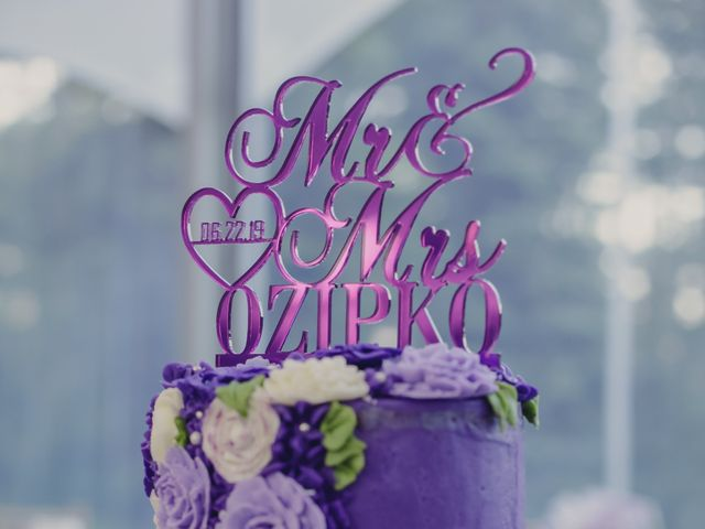 Jaden and Skylor's wedding in Sylvan Lake, Alberta 2