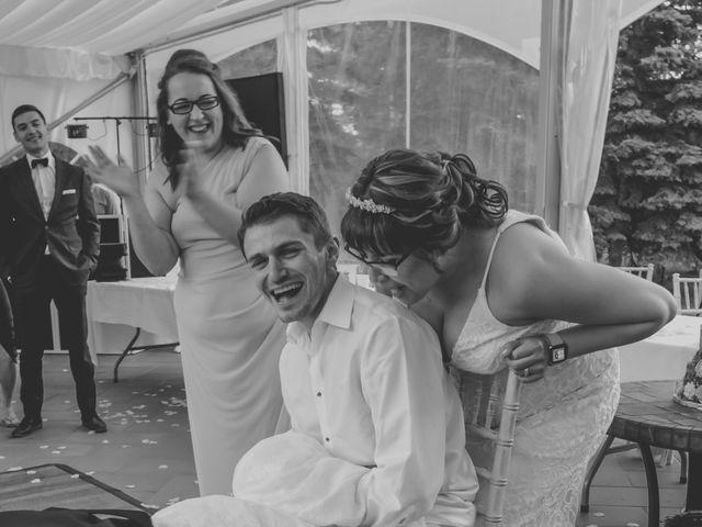 Jaden and Skylor's wedding in Sylvan Lake, Alberta 4