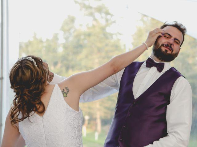 Jaden and Skylor's wedding in Sylvan Lake, Alberta 5
