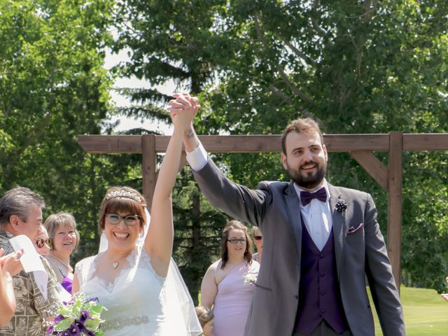 Jaden and Skylor's wedding in Sylvan Lake, Alberta 1
