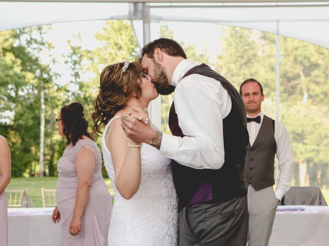 Jaden and Skylor's wedding in Sylvan Lake, Alberta 12