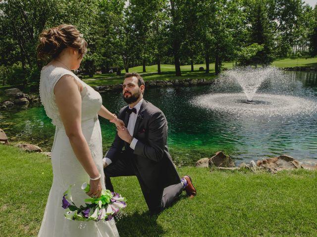 Jaden and Skylor's wedding in Sylvan Lake, Alberta 19