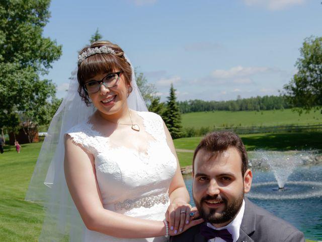 Jaden and Skylor's wedding in Sylvan Lake, Alberta 25