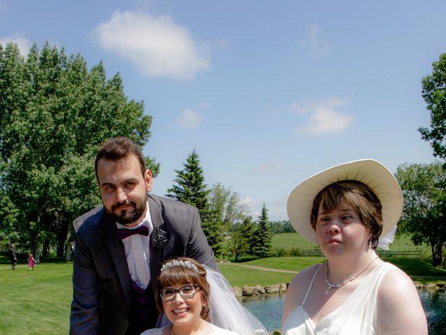 Jaden and Skylor's wedding in Sylvan Lake, Alberta 26