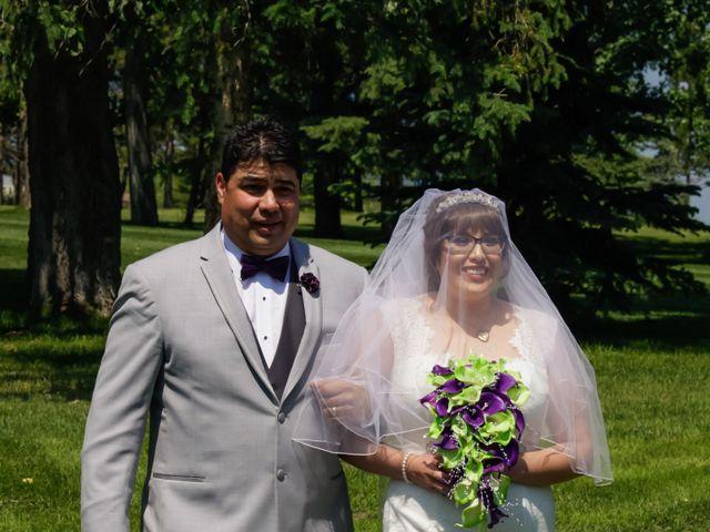Jaden and Skylor's wedding in Sylvan Lake, Alberta 28