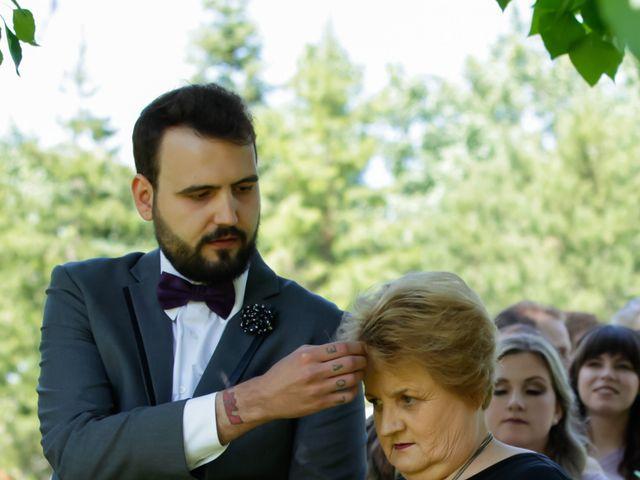 Jaden and Skylor's wedding in Sylvan Lake, Alberta 29