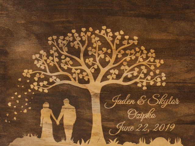 Jaden and Skylor's wedding in Sylvan Lake, Alberta 38