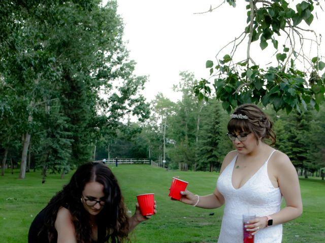 Jaden and Skylor's wedding in Sylvan Lake, Alberta 41
