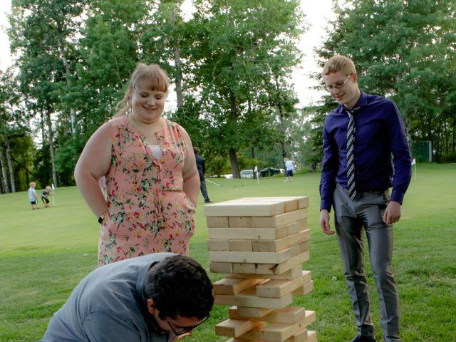 Jaden and Skylor's wedding in Sylvan Lake, Alberta 42