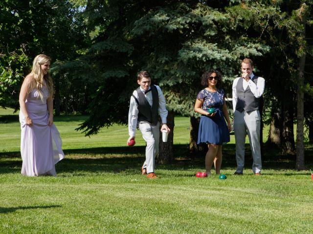 Jaden and Skylor's wedding in Sylvan Lake, Alberta 45
