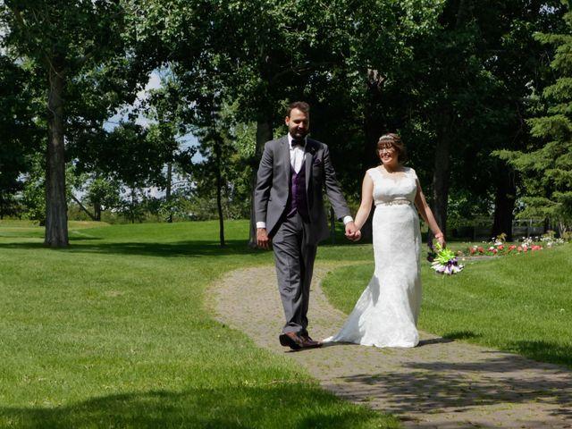 Jaden and Skylor's wedding in Sylvan Lake, Alberta 49