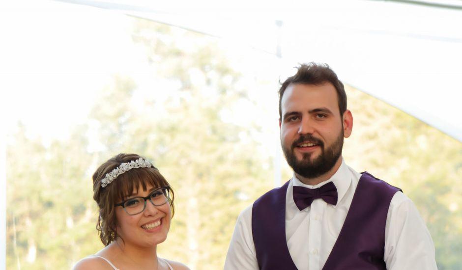 Jaden and Skylor's wedding in Sylvan Lake, Alberta