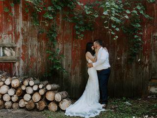 The wedding of Natasha and Colin
