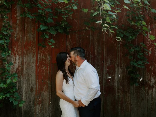 Colin and Natasha's wedding in Fonthill, Ontario 1