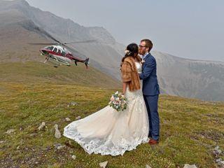 The wedding of Natasha and Michael