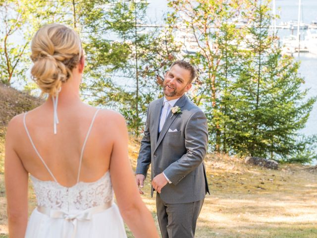Mike and Stephanie's wedding in Pender Island, British Columbia 15