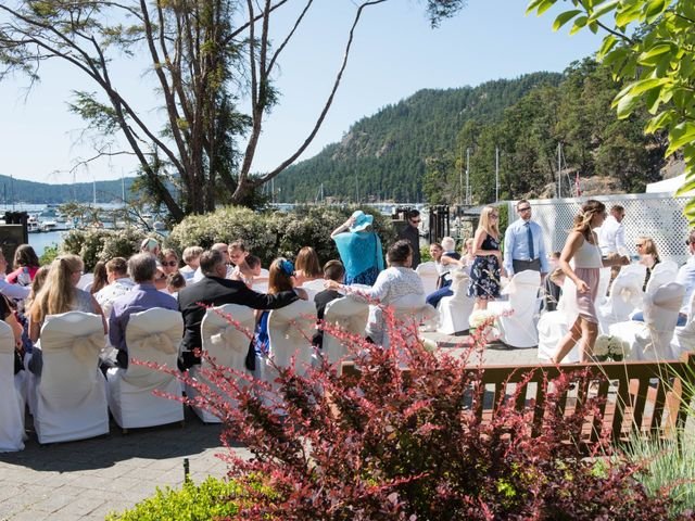 Mike and Stephanie's wedding in Pender Island, British Columbia 21
