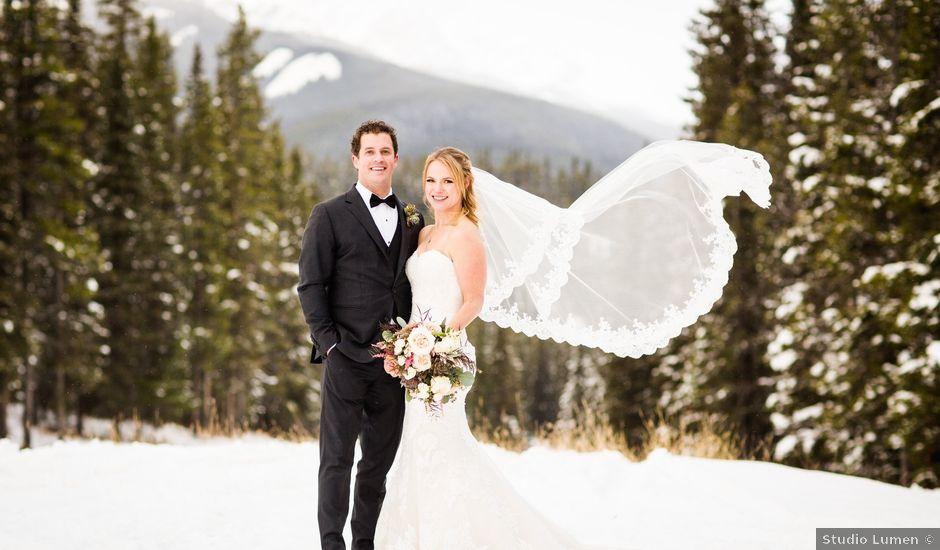 Fraser And Vanessa's Wedding In Banff, Alberta