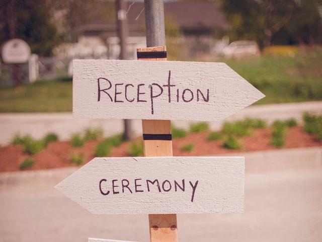 Adam and Sara's wedding in Thornbury, Ontario 3