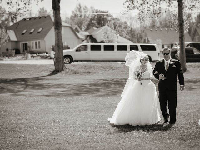Adam and Sara's wedding in Thornbury, Ontario 2