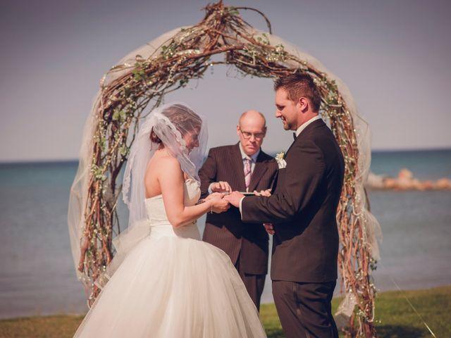 Adam and Sara's wedding in Thornbury, Ontario 12