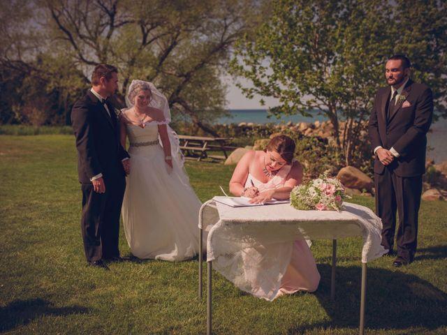 Adam and Sara's wedding in Thornbury, Ontario 13