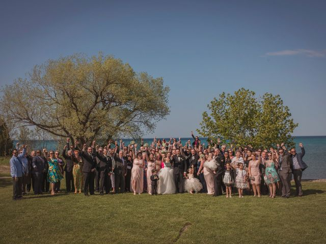 Adam and Sara's wedding in Thornbury, Ontario 19