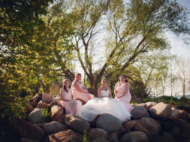 Adam and Sara's wedding in Thornbury, Ontario 41