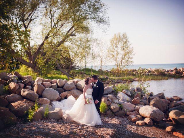 Adam and Sara's wedding in Thornbury, Ontario 49