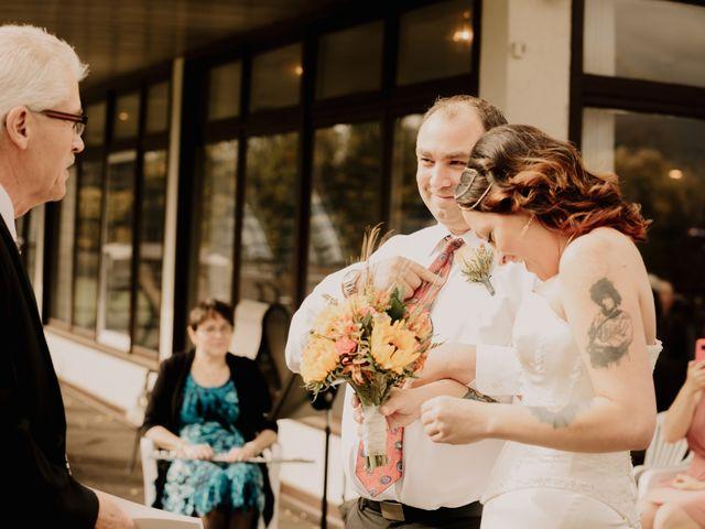 Chris and Sarah's wedding in Thunder Bay, Ontario 22