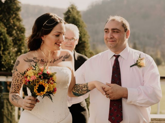 Chris and Sarah's wedding in Thunder Bay, Ontario 1