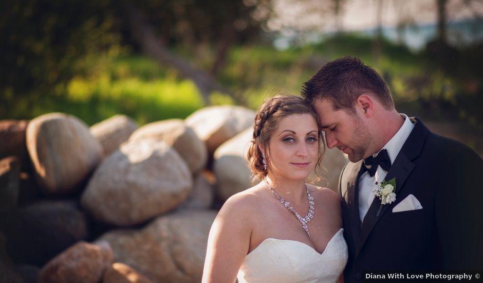 Adam and Sara's wedding in Thornbury, Ontario