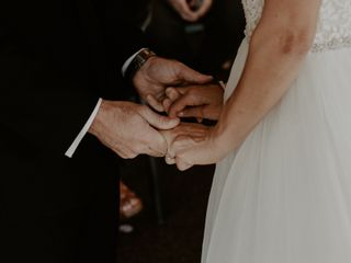 The wedding of Gina and Daryl 2