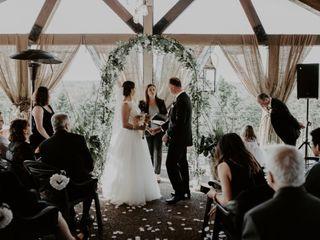 The wedding of Gina and Daryl