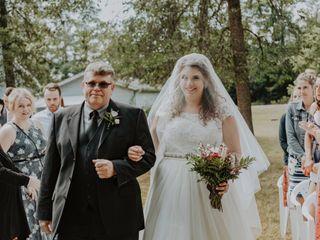 The wedding of Kayla and Max