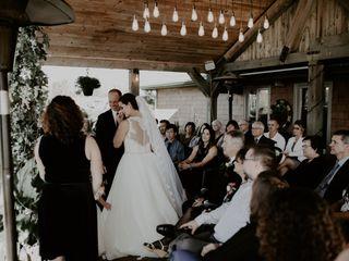 The wedding of Gina and Daryl 1