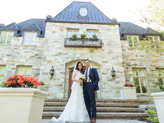 The wedding of Samia and Mike