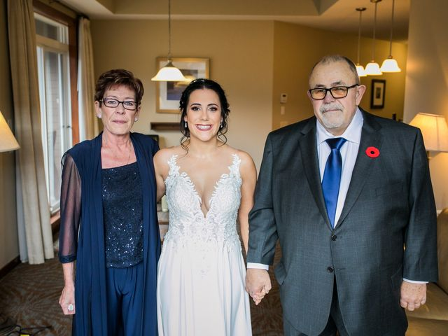 Adam and Erin's wedding in Canmore, Alberta 15