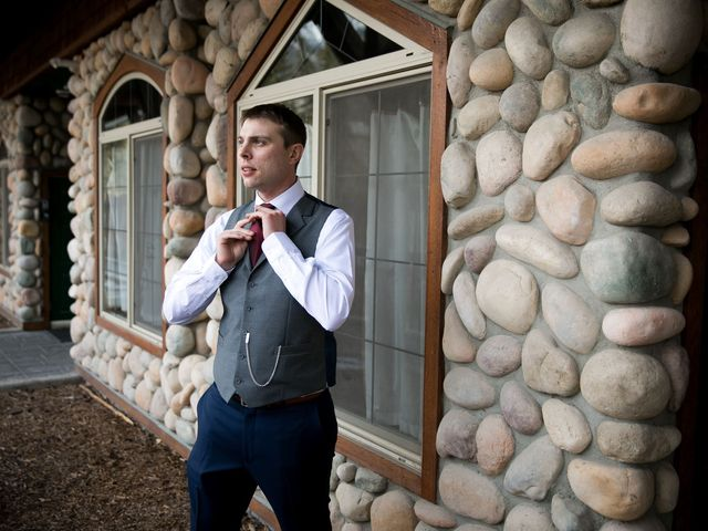 Adam and Erin's wedding in Canmore, Alberta 21
