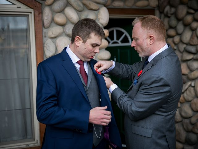 Adam and Erin's wedding in Canmore, Alberta 22