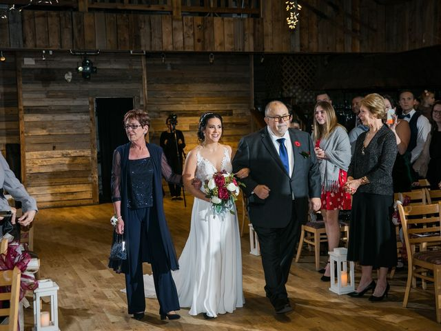 Adam and Erin's wedding in Canmore, Alberta 23