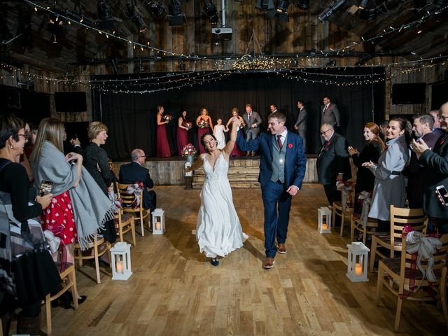 Adam and Erin's wedding in Canmore, Alberta 1